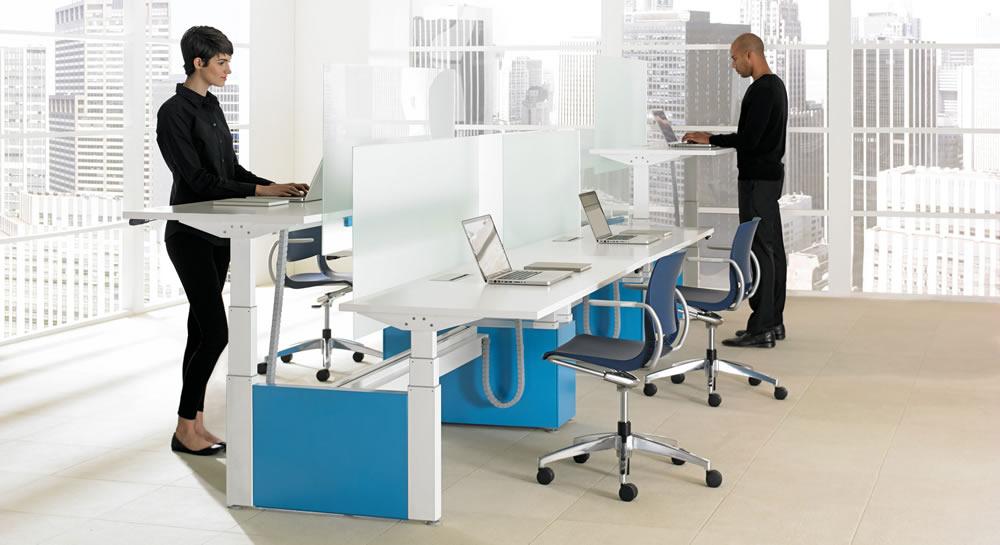 Teknion Ergonomic Desks
