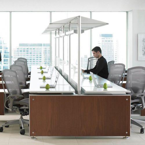 Teknion Marketplace Desking System